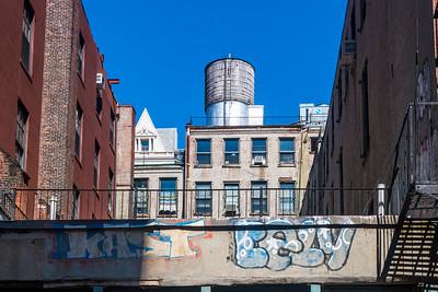 Sunlit Water Tower