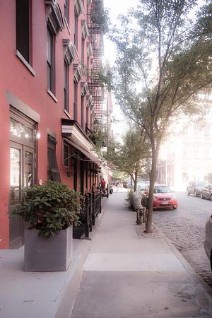 Crosby Street Sidewalk