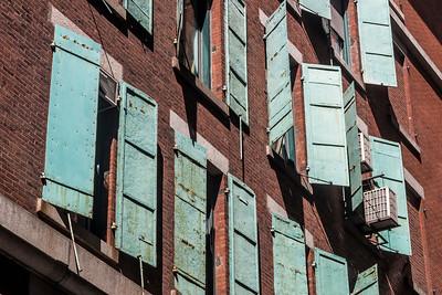 Rusting Shutters
