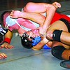 Beekmantown's Josh Nephew has the upper hand on Peru's Kevin Lashway during their 171-pound match Wednesday night in CVAC wrestling. Nephew won the match, and the Eagles defeated the Indians. See story, Page B3.<br><br>(P-R Photo/Rachel Moore)
