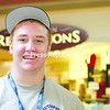 Ryan Stacey of Peru plans to in invite about 10 or 15 people to a Super Bowl party.<br><br>(P-R Photo/Kelli Catana)