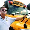 Howard Newton, transportation superintendent for Peru Central School District, says the lengthy certification process to become a bus driver is contributing to the shortage of drivers. <br><br>(Staff Photo/Michael Betts)