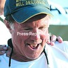 Michael Parsons smiles and laughs while discussing his day on Lake Champlain in the 31st annual Mayor's Cup Regatta. Bonus photos available at www.pressrepublican.com.<br><br>(P-R Photo/Kelli Catana)