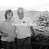 Artists Elena Borstein and Iain Whitecross pose on the deck of their Elizabethtown home.<br><br>(Staff Photo/Rob Fountain)