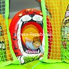 Two-year-old Abby Pearl of Plattsburgh dives through an obstacle in an inflatable bouncy bounce Sunday during the Clinton Community College's Family Fun Day. The event was open to the public and featured sport clinics, arts and crafts, kidney disease screening, an indoor walk, and entertainment by Roy Hurd to raise Kidney Disease awareness. <br><br>(P-R Photo/Rachel Moore)