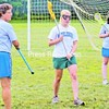 Coach Kissy Rowley teaches campers how to play lacrosse.<br><br>(Staff Photo/Lohr McKinstry)