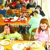 A crowd of diners enjoys their breakfasts under a tent at the Sugar House.<br><br>(P-R Photo/Rachel Moore)