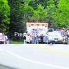 An ambulance took Scott Adkins to CVPH Medical Center late Tuesday morning after the convicted burglar was shot during his foiled escape attempt. State Police said Adkins, 23, walked away from Lyon Mountain Correctional Facility Monday and made it about three miles before an off-duty correction officer spotted him. Adkins suffered minor wounds during the shooting. He faces up to seven years in prison for the escape.<br><br>(Staff Photo/Kelli Catana)