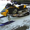 Snowmobiles like this one, owned by Bailey's Motor Company as part of Bailey's Motor Sports in Malone, will be the featured attraction at the seventh-annual Rock Maple Racing Sno-Cross Challenge. The event will be held Saturday and Sunday, Jan. 9 and 10, at the Franklin County Fairgrounds in Malone.<br><br>(Staff Photo/Denise A. Raymo )