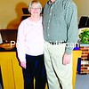"""The Rev. John Milligan — who asks folks to call him Pastor John — and his wife, Karen, came to Elizabeth Street Wesleyan Church in July 2008. At 61, he figures he'll continue full-time pastorship for at least another decade but that he'll never fully retire. """"When you're called,"""" he said, """"you're called for life.""""<br><br>(Staff Photo/Kelli Catana)"""