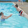 Trent Parrish cools off as he jumps into his mom's arms at the Saranac town pool. His mom, Jessica Dezalia, said he takes swimming lessons at the pool weekly.<br><br>(P-R Photo/Joanne Kennedy)