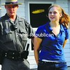 Lisa Joy, 19, of Plattsburgh. <br><br>(Staff Photo/Kelli Catana)