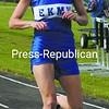 Lindsay LaBarge of EKMW wins the girls' 400-meter dash in Ticonderoga Tuesday.<br><br>(Staff Photo/Alvin Reiner)