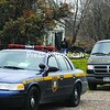 State Police search Kathryn A. Shoemaker's home at 776 County Route 52 in Chateaugay Tuesday afternoon. Shoemaker was later charged in the Aug. 20 homicide of Ravin Miller of Churubusco.<br><br>(Staff Photo/Kelli Catana)