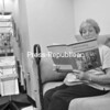 Linda Rielly of Plattsburgh reads educational material in the new Alzheimer's Resource Room in Sibley Hall at Plattsburgh State. She has been a caregiver for about nine years since her husband, Everett, began showing pronounced symptoms of the disease. The Northeastern New York Alzheimer's Disease Assistance Center has offered the new space for care providers for about a year now.<br><br>(P-R Photo Andrew Wyatt)