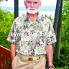 Author Russell Bellico stands on his porch overlooking Lake George. He has just released a new book on the French and Indian War.<br><br>(Staff Photo/Lohr McKinstry)