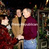 """Gretchen Sando and Mike Patnode are married by Town Justice Peter Frisbee at the Olde Farmacy in Elizabethtown. They called the unusual site for their nuptials """"magical.""""<br><br>(Staff Photo/Alvin Reiner)"""