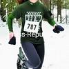 Jingle Bell 5K Snowshoe Race women's winner Alexa Cosgro.<br><br>(P-R Photo/Pat Hendrick)