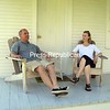 Jeb and Peggy Hart enjoy their porch and the view.<br><br>(P-R Photo/Alison Hain)