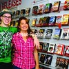 Becky and Nick Leonard, family owners and operators of Under One Roof Video Store in Plattsburgh, will be celebrating their 20th year of business.<br><br>(Staff Photo/Kelli Catana)