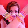 Anna Ferris, 14, of Plattsburgh shows off her Silly Bandz. The rubber band-style bracelets have recently become a nationwide fad among school children. <br><br>(P-R Photo/Andrew Wyatt)