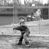 """Alex """"A-Bus"""" Buskey, 7, gets in a little batting practice at Melissa L. Penfield Park in Plattsburgh with the help of granddad Mark Dutton, serving as pitcher. Alex is already signed up for the Little League season, which begins next month.<br><br>(P-R Photo/Steve Howell)"""