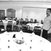 Facility Manager William Dashnaw Jr. shows some of the amenities at West Side Ballroom located at 253 New York Road at the former NCO Club on the former Air Force Base in Plattsburgh. They are now open with full services and a liquor license and feature facilities for banquets, weddings, conferences and any other occasion. They can accommodate 350 people and have on-site catering for business seminars, retirement parties, sit down or buffet.  Call 324-4777 for more information. <br><br>(P-R Photo/Bruce Rowland)