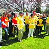 Cherrie Sayles (center) stands next to Saranac Lake Mayor Clyde Rabideau as she announces plans for Daffest.<br><br>(P-R Photo/Jack Laduke)