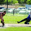 Peru's Brianna Martineau steals second base during Wednesday's CVAC softball game with Beekmantown. The Indians rolled to a 17-4 win.<br><br>(P-R Photo/Andrew Wyatt)