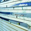 Alpina and Fischer are the two main lines of nordic skis at Wooden Ski and Wheel. The shop has more than 80 pairs of nordic skis in stock. <br><br>(P-R Photo/Andrew Wyatt)