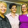 Among the speakers at Monday's Women of Wisdom Workshop are (from left) Punki Duhaime, owner of Punki's Salon; Lorie Lee Noelting, cancer survivor; and Elli Collins, breast cancer nurse. The event will be held at Clinton Community College in Plattsburgh. <br><br>(Staff Photo/Kelli Catana)