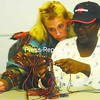 Maggie St. Fort (right) works on her macrame project with the help of Alison Doh.<br><br>(Staff Photo/Kelli Catana)