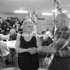 Diane Nadeau and Gene Provencer dance to the big-band sounds of the Adirondack Jazz Orchestra at the Senior Center in Plattsburgh during a recent gala event held there.<br><br>(P-R Photo/Andrew Wyatt)