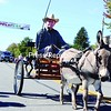 Jim Dugan takes a ride through the Applefest parade with the help of a donkey.<br><br>(P-R Photo/Andrew Wyatt)