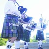 The Quigley Highlanders entertain with a bagpipe performance at the Macdonough Monument.<br><br>(P-R Photo/Andrew Wyatt)