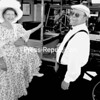 "George ""Chip"" and Kathy Button with their 1914 Model T Depot Hack Ford, which was the oldest vehicle at the celebration.<br><br>(Staff Photo/Alvin Reiner)"