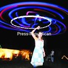 Danielle Mashtare of Plattsburgh spins a hula hoop with LED lights during a performance by jam-band favorites Twiddle. The music festival, held last weekend, was hosted by Lucid.<br><br>(P-R Photo/Andrew Wyatt)