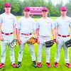 Plattsburgh State seniors (left to right) Danny Roeser, Donny Coolidge, Crockett Pack and Anthony Presto have been strengths for a Cardinals team that has struggled this season.<br><br>(Staff Photo/Kelli Catana)