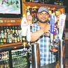 Saleem Hayat is ready to serve patrons at Turnpike Sports Bar.<br><br>(P-R Photo/Rob Fountain)