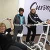 Circuit coach Julie Kirby, manager Susan Moore, owner Kristen Moore and circuit coach Beverly Kie (from left) are ready to assist customers at Curves, a new women's fitness center at 8B Plattsburgh Plaza, 316 Cornelia St., in Plattsburgh. Curves features a 30-minute workout regimen that works every major muscle group with strength training, cardio and stretching for all ages and fitness levels. They also have a new after-workout stretch circuit machine. Curves is open from 9 a.m. to 7 p.m. Monday through Friday. For more information, call 310-1273.<br><br>(P-R Photo/Bruce Rowland)
