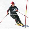 Emily Eaton of Lake Placid negotiates the slalom course at Mount Pisgah Tuesday during an alpine skiing competition in the Lake Placid Winter Carnival. Teammate Maris Van Slyke finished first while Eaton came in seventh.<br><br>(P-R Photo/Pat Hendrick)