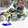 Mathieu Morin of Val-D'Or, Que. competes on the final day of the East Coast Snocross Series event at Crete Memorial Civic Center Sunday. For more photos of the two-day event, which wrapped up Sunday, see Page B3.<br><br>(P-R Photo/Gabe Dickens)