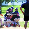 Hannaford players celebrate with a pile on the mound at Melissa L. Penfield Park after defeating Pepsi Saturday to capture the Plattsburgh Little League A Division title. Bonus photos will be available midday Monday at pressrepublicanphotos.com.<br><br>(P-R Photo/Gabe Dickens)