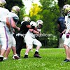 The Plattsburgh North Stars practice Thursday at Plattsburgh High School. The defending-champion Stars begin Empire Football League play this weekend.<br><br>(P-R Photo/Gabe Dickens)