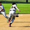 City Police's Nate Foster and Alex Price (9) can't get to a ground ball single to left field during a Plattsburgh Babe Ruth game Friday at Lefty Wilson Field.<br><br>(P-R Photo/Gabe Dickens)