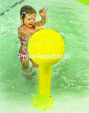 Mikayla Bigelow, 3, of Plattsburgh enjoys some pool time at the Comfort Inn & Suites in Plattsburgh Thursday evening.<br><br>(P-R Photo/Andrew Wyatt)