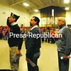 Nearly a dozen U.S. veterans were on hand for the fifth-annual Veterans Day program put on at Bloomingdale Elementary School Thursday. About 200 students paid tribute to veterans in an hour-long program that included placing a wreath and singing patriotic songs. Today is Veterans Day, with events being held around the North Country.<br><br>(P-R Photo/Jack LaDuke)