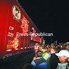 More than 500 people greeted the Canadian Pacific Holiday Train at its Port Henry stop Monday night. The train also stopped in Plattsburgh and Ticonderoga, previously visiting Rouses Point.<br><br>(Staff Photo/Lohr McKinstry)