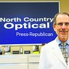 Michael Lack, O.D., stands in his office North Country Optical located at 292 Cornelia Street, Building 2 in Plattsburgh. Office hours are Tuesday 8 a.m. to 6 p.m. , Wednesday through Friday 8 a.m. to 5 p.m., and Saturday 9 a.m. to 3 p.m.<br><br>(P-R Photo/Rob Fountain)