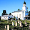 The cemetery adjoining the First Congregational Church of Lewis provides a historical reference to the town, as it is the burial place of veterans as well as suffragette Inez Milholland.<br><br>(P-R Photo/Alvin Reiner)